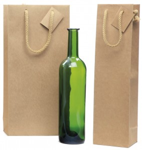 Bolsas de papel para botellas Lux Nature